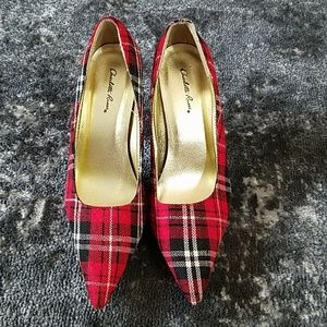 {Charlotte Russe} Plaid Heels
